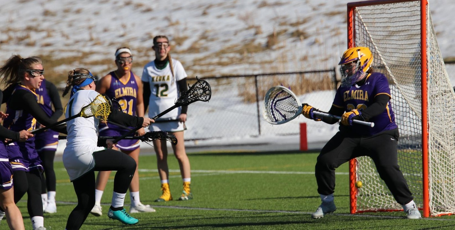 Vanessa Tsarevich (1) led the Wolves with four goals on Tuesday -- Photo by Chey Bennett