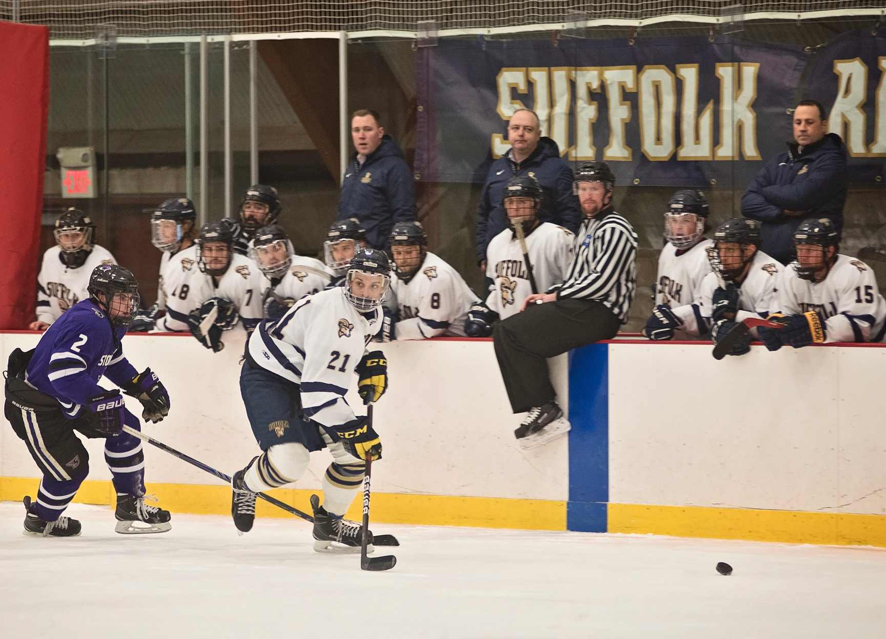Men's Hockey Closes 2016 at Salem State Thursday