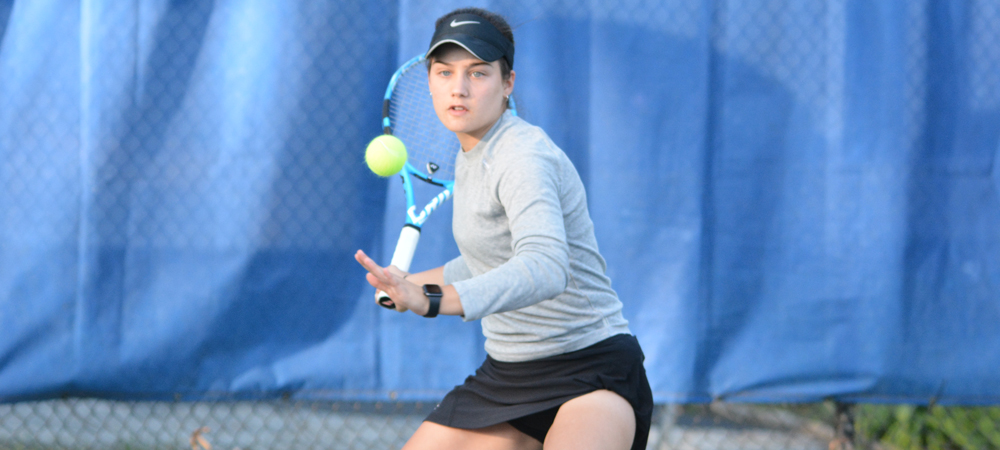 Women's Tennis Secures CACC Regular Season Title With 6-1 Victory Over USciences