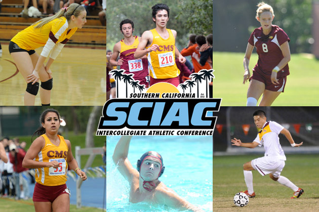 Fall sports land 42 CMS student-athletes on SCIAC All-Academic Teams