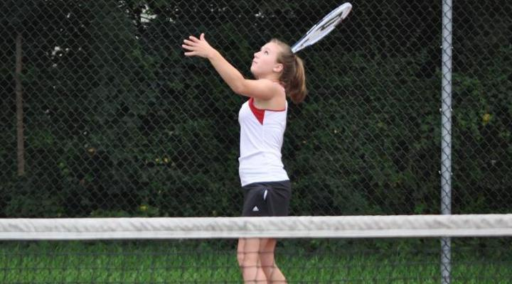 Women's Tennis Doubled Up by UMass-Boston, 6-3