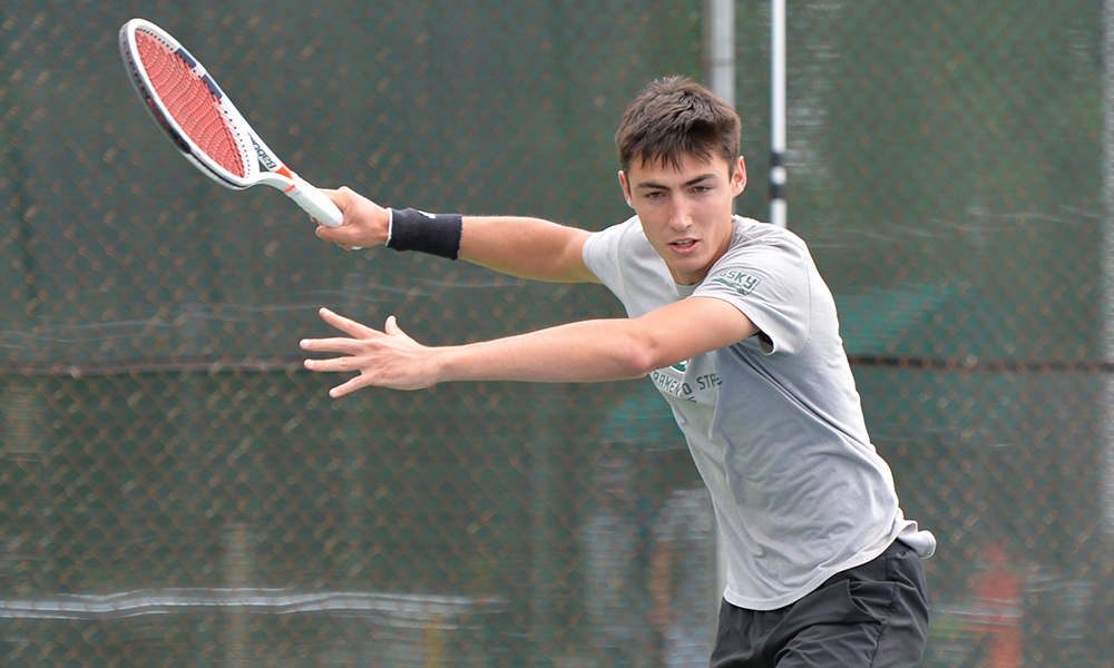 MEN'S TENNIS WRAPS UP SECOND FALL TOURNAMENT AT THE AGGIE INVITATIONAL