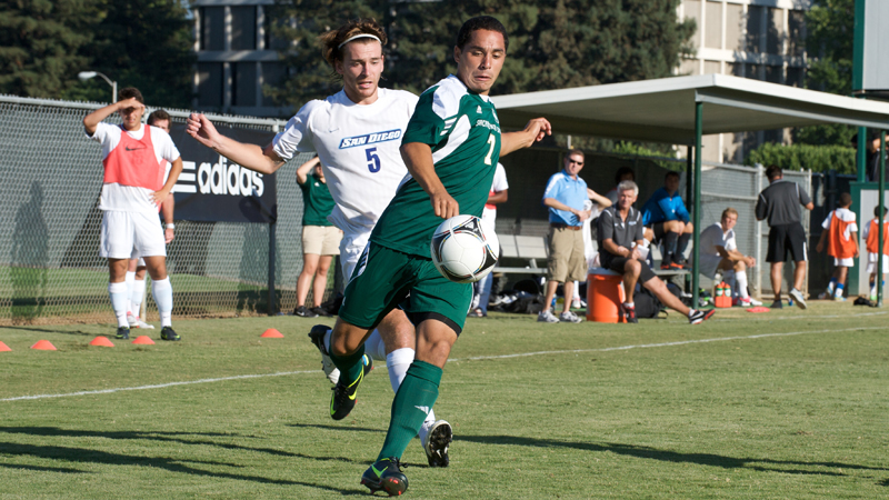 MEN'S SOCCER WINS HUGE GAME AT CAL POLY, 3-2