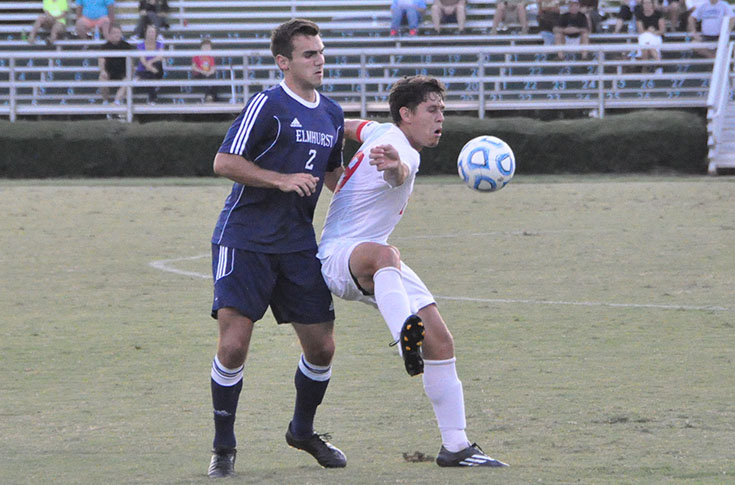 Men's Soccer: Last minute goal lifts Averett past Panthers 3-2 in USA South game