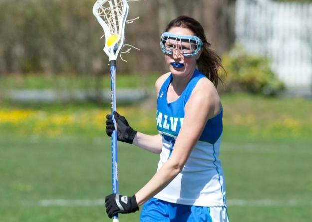 Kelly Burke had a team-high six points on five goals and one assist