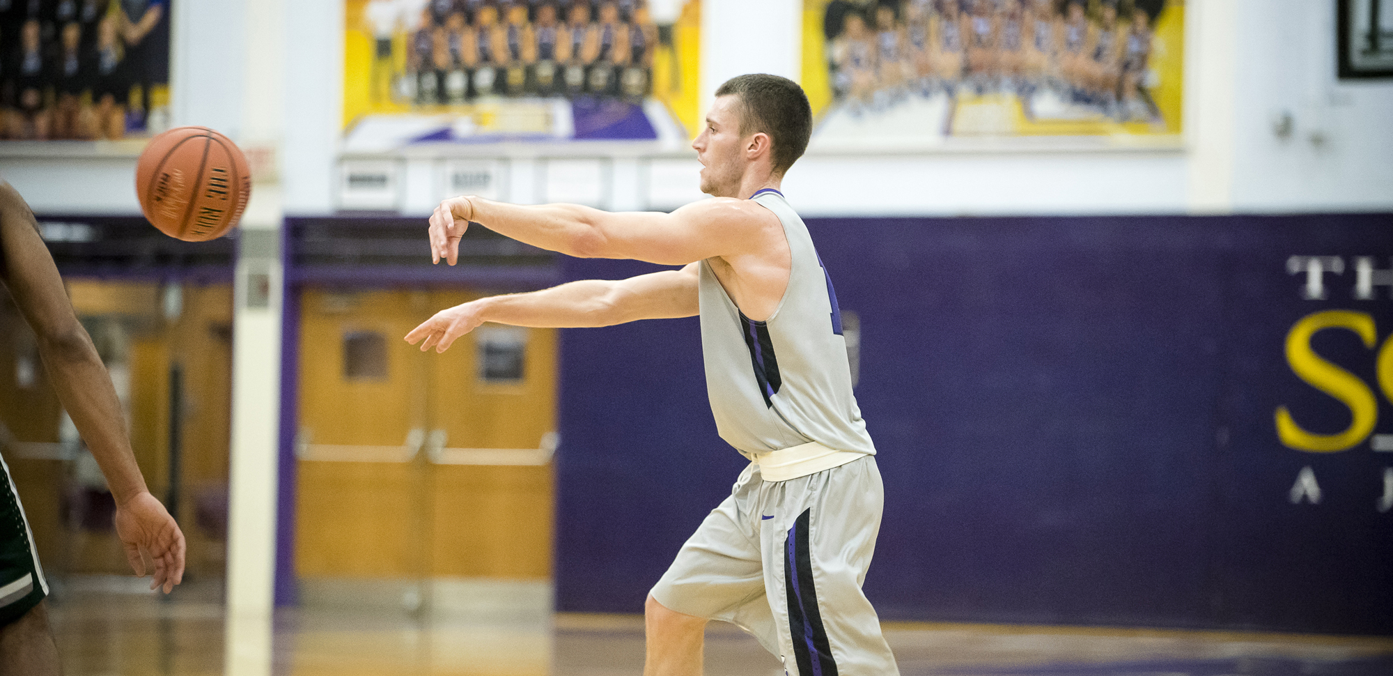 Senior guard Kevin Doolan hit three 3-pointers en route to 13 points on Sunday.
