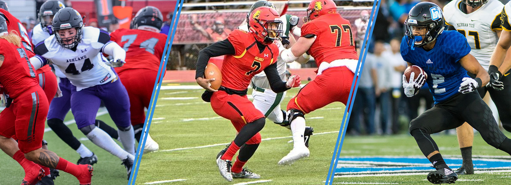 Ferris State's Campbell, Ashland's Reichelderfer & Grand Valley State's Dodson Earn GLIAC Football Player of the Week Distinction