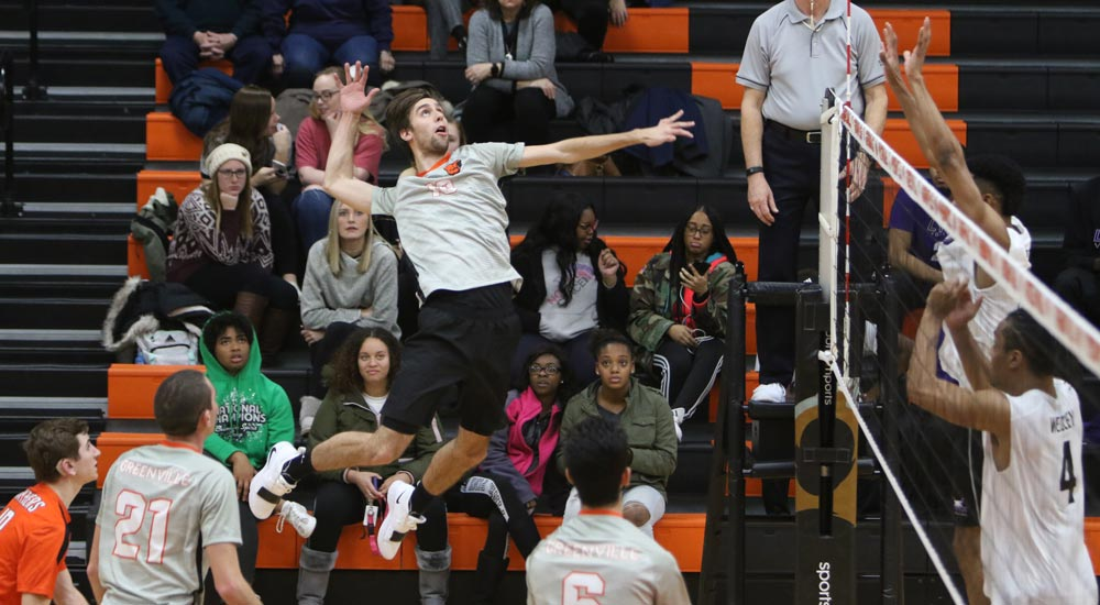 Men's volleyball slowed at Fontbonne