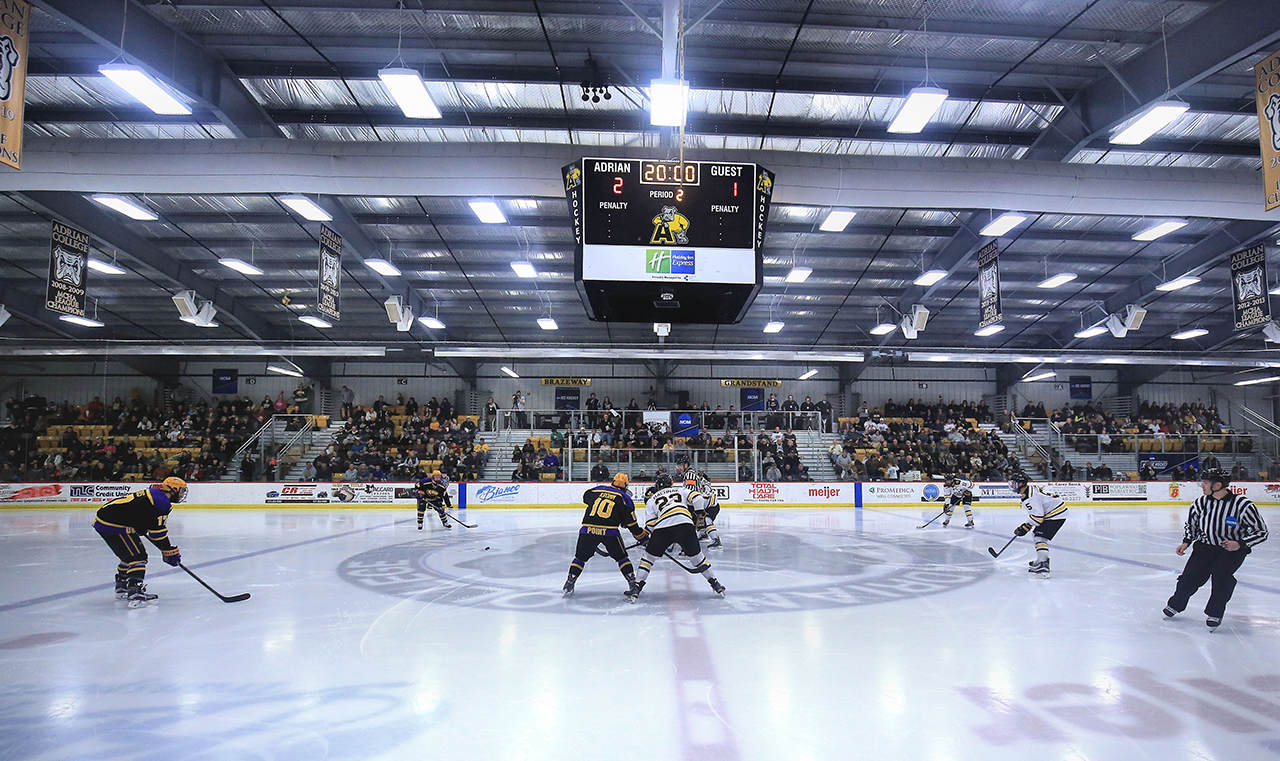 Schedule Reminder: Adrian-St. Norbert Men's Hockey Game Moved Back to 4:05 p.m. Saturday