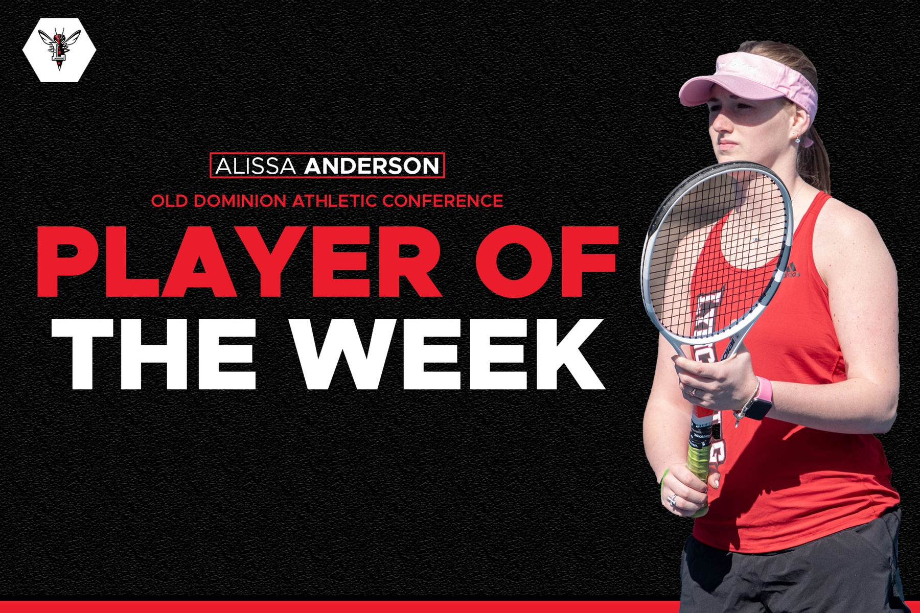 Alissa Anderson player of the week graphic