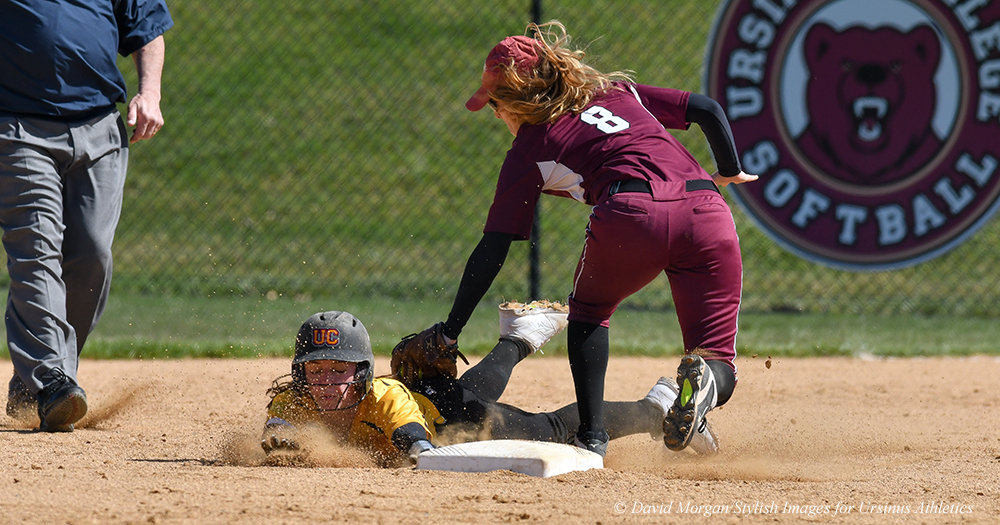 Softball Splits With Swarthmore