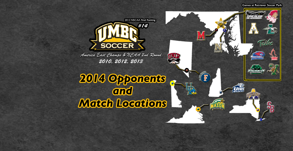 Men's Soccer Announces 2014 Schedule; Five '13 NCAA Squads Highlight Slate