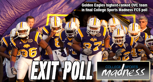 Golden Eagles 16th in final College Sports Madness poll