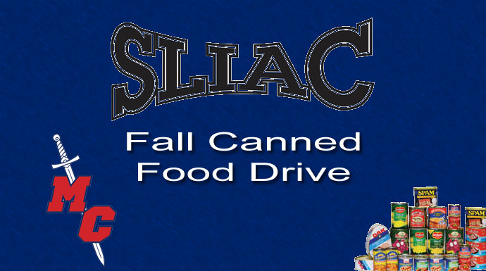 MacMurray First In SLIAC Fall Canned Food Drive Competition