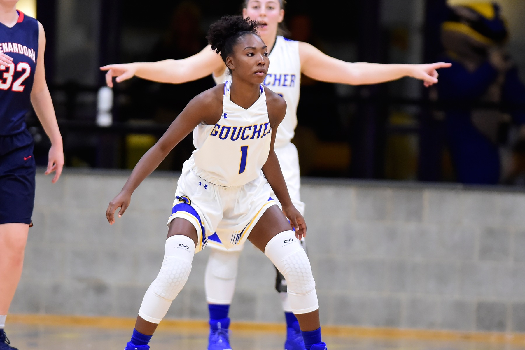 Three Score in Double-Figures for Women's Basketball in Loss at Scranton