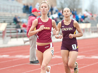 Three National-Qualifying Marks for Bulldog Indoor Track