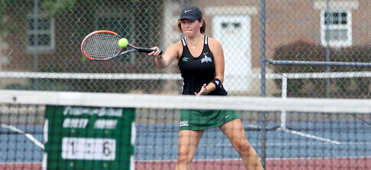 Gator women's tennis team fall in E8 play to Alfred