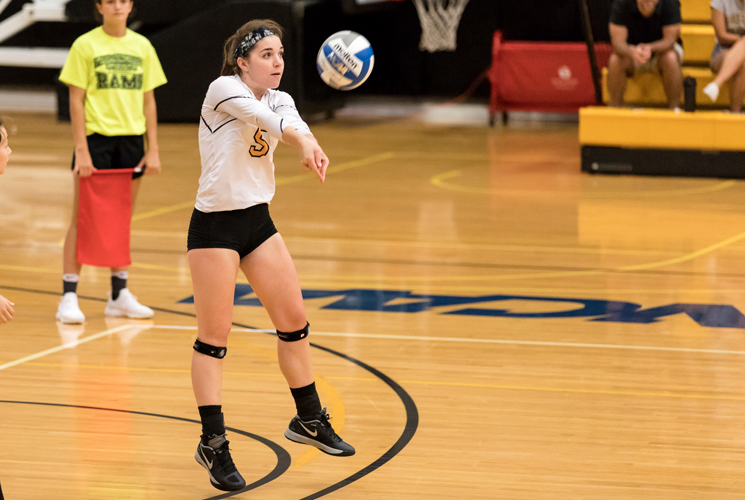 Volleyball Falls in Straight Sets at Mount Holyoke