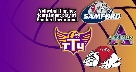 Tech Volleyball wraps up tournament play at Samford Invitational