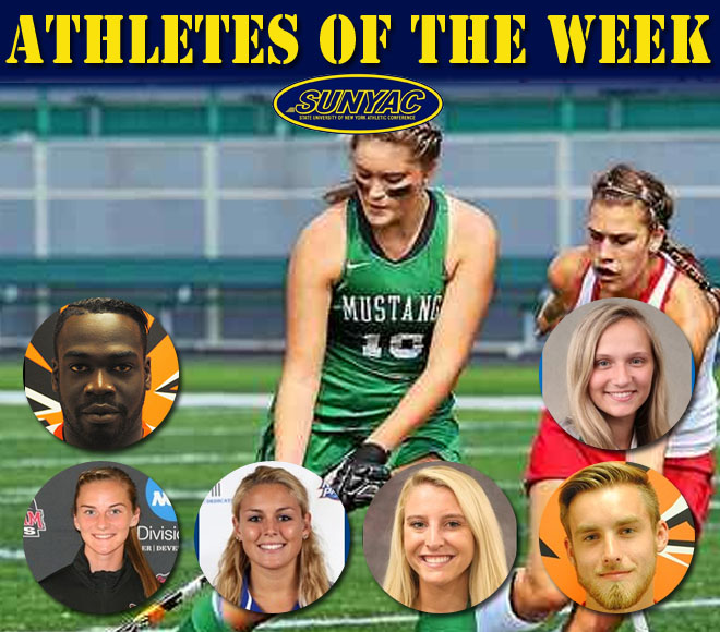 SUNYAC announces soccer, field hockey and volleyball athletes of the week