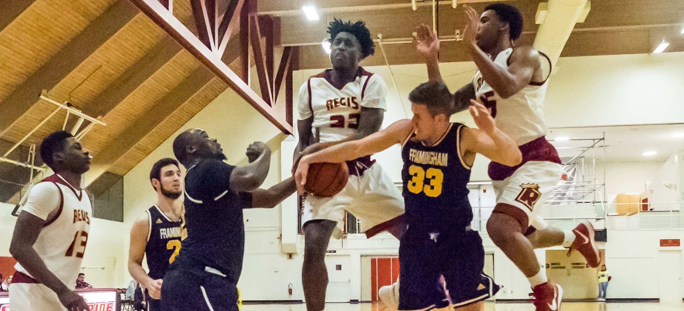 Men's Basketball Closes Season With Loss To Lasell In GNAC Quarterfinal
