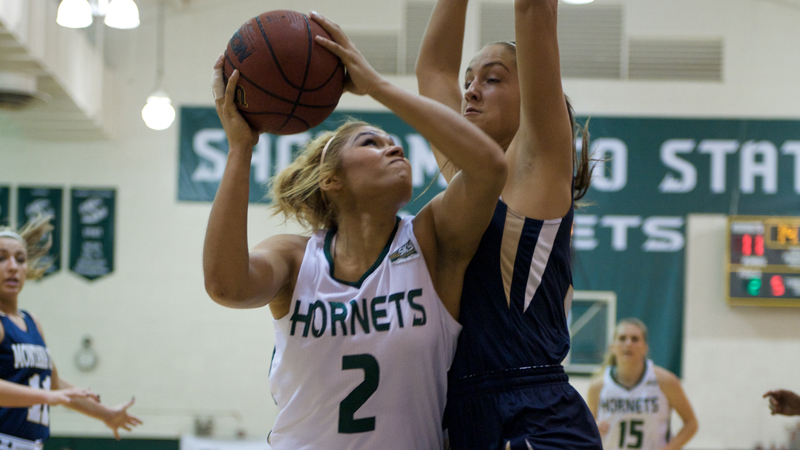 WOMEN'S BASKETBALL TOPS MONTANA STATE 107-95 IN BIG SKY OPENER
