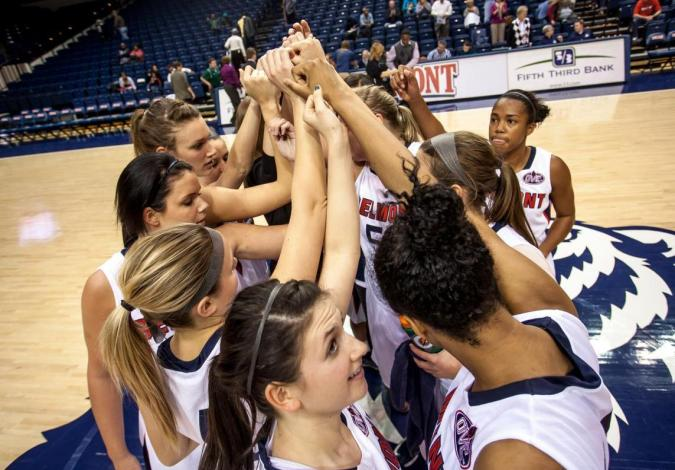 2012-13 Belmont Women's Basketball Team