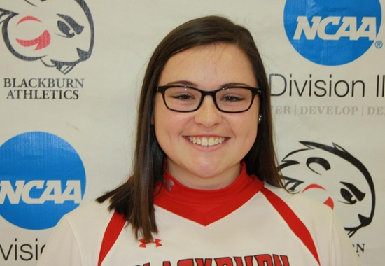 Softball Duo Leads Four Blackburn Student-Athletes on Conference All-Academic Team