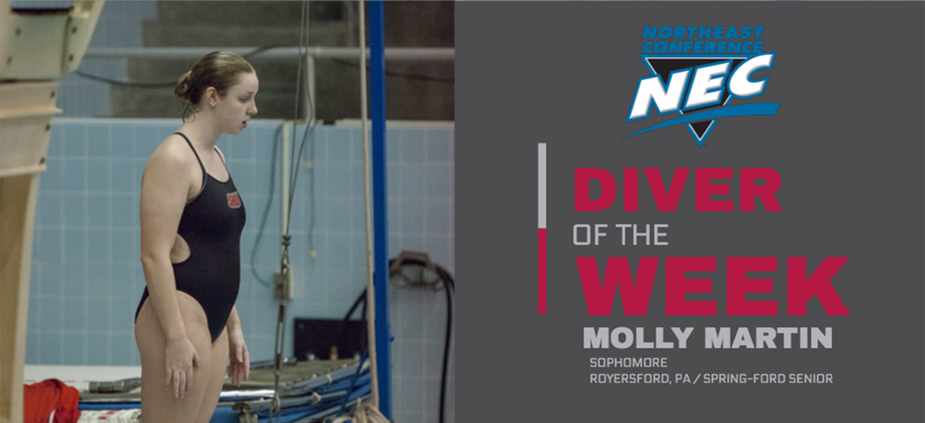 Martin Tabbed NEC Diver of the Week