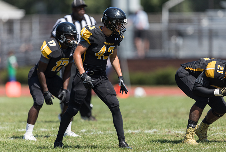 Football Defeated 14-0 by Brockport