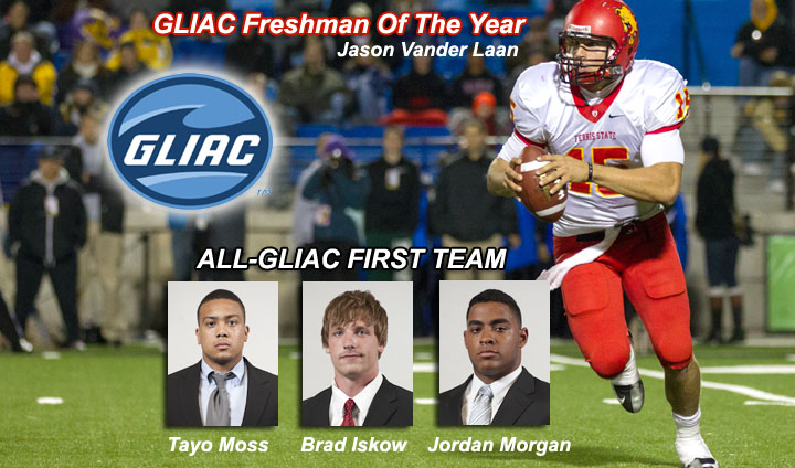 Bulldog Football Well-Represented On All-GLIAC Teams