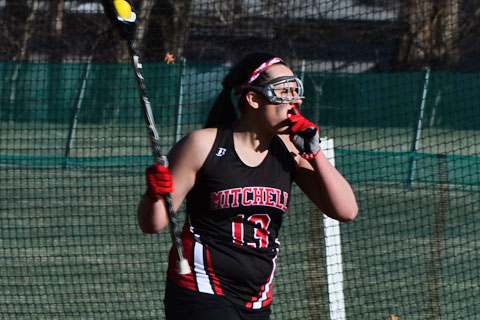 Women's LAX Tops Bay Path in Varsity Debut
