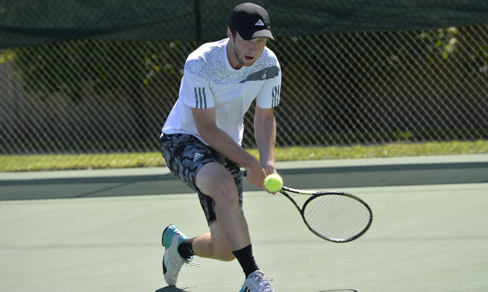 MEN'S TENNIS FALLS ON THE ROAD AT MONTANA, 5-2