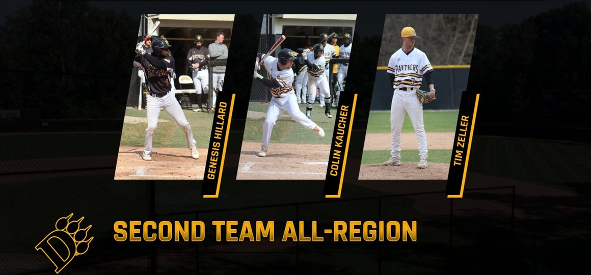 Trio Named To D2CCA Baseball All-Region List
