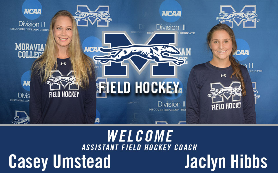 Assistant Field Hockey Coaches Casey Umstead and Jaclyn Hibbs
