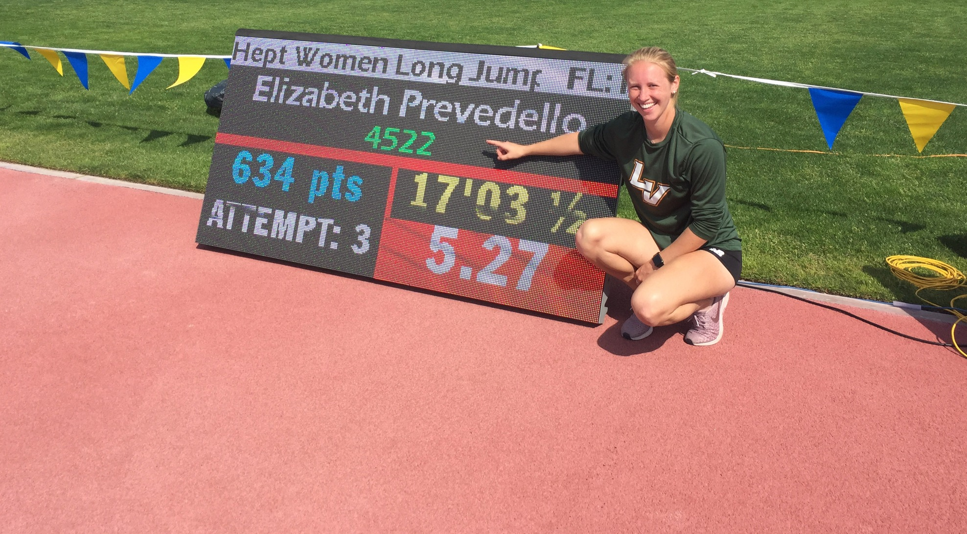 Prevedello sets record at UCR, T&F shines at PLU