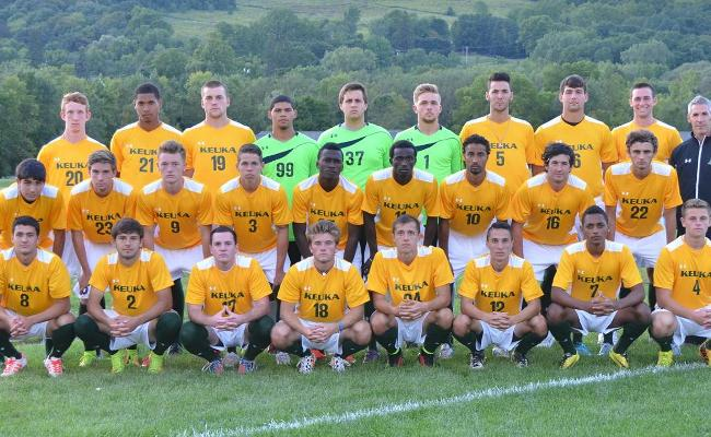 The Keuka College men's soccer team returns 16 student-athletes from last year, and is hungry for success in 2014.