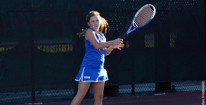 Women's Tennis ends spring break trip with loss to Nebraska Wesleyan
