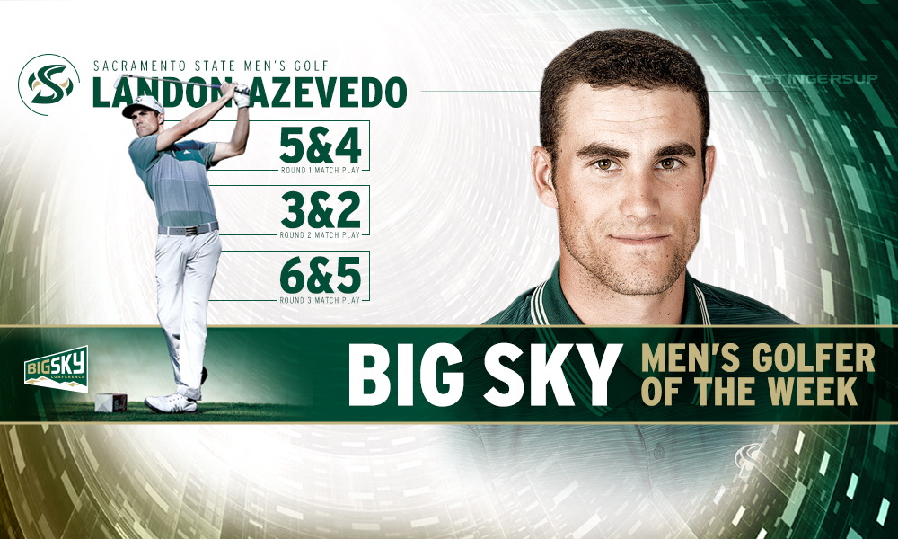 LANDON AZEVEDO NAMED BIG SKY MEN'S GOLFER OF THE WEEK