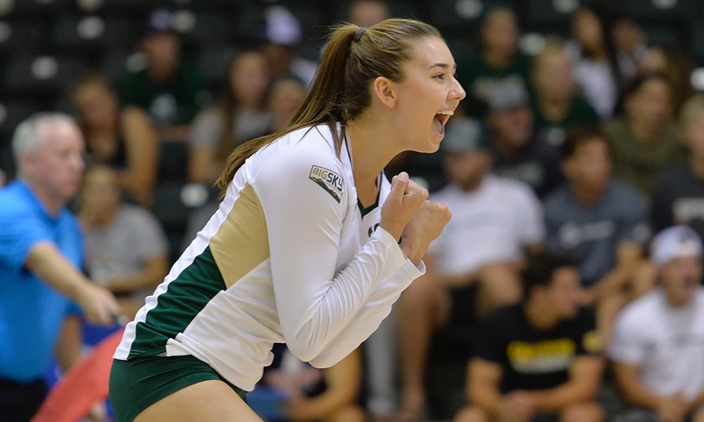 VOLLEYBALL OPENS 4-GAME HOMESTAND THIS WEEK VS IDAHO STATE AND WEBER STATE