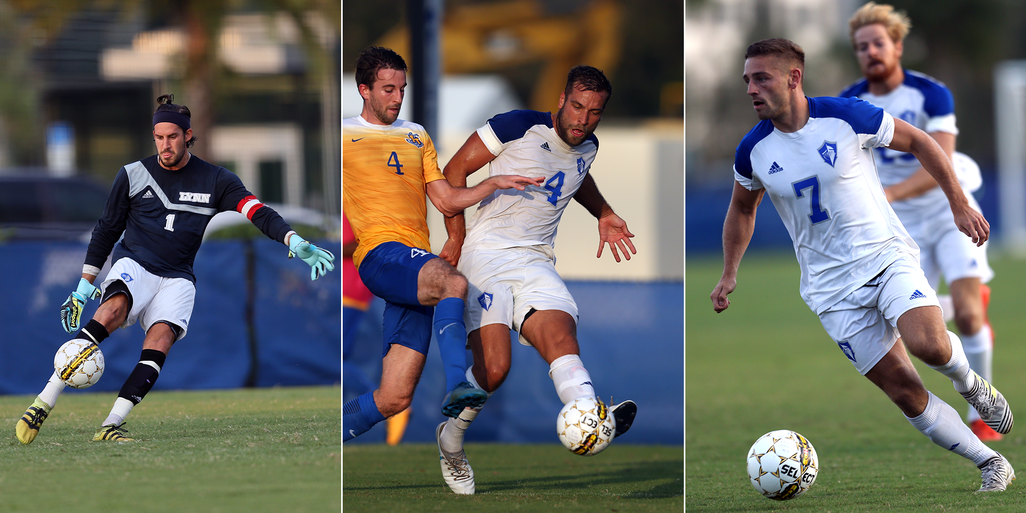Men's Soccer Sees Three Selected All-SSC