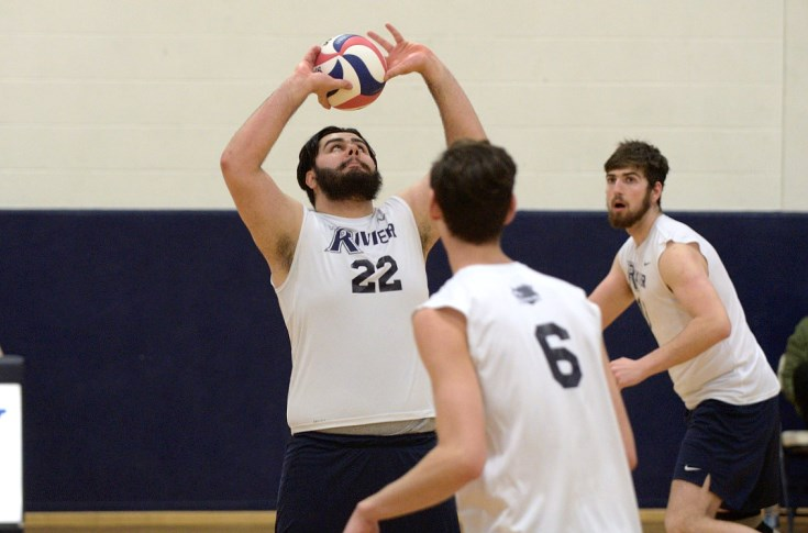 Men's Volleyball: Raiders remain perfect in GNAC; down Lasell 3-1