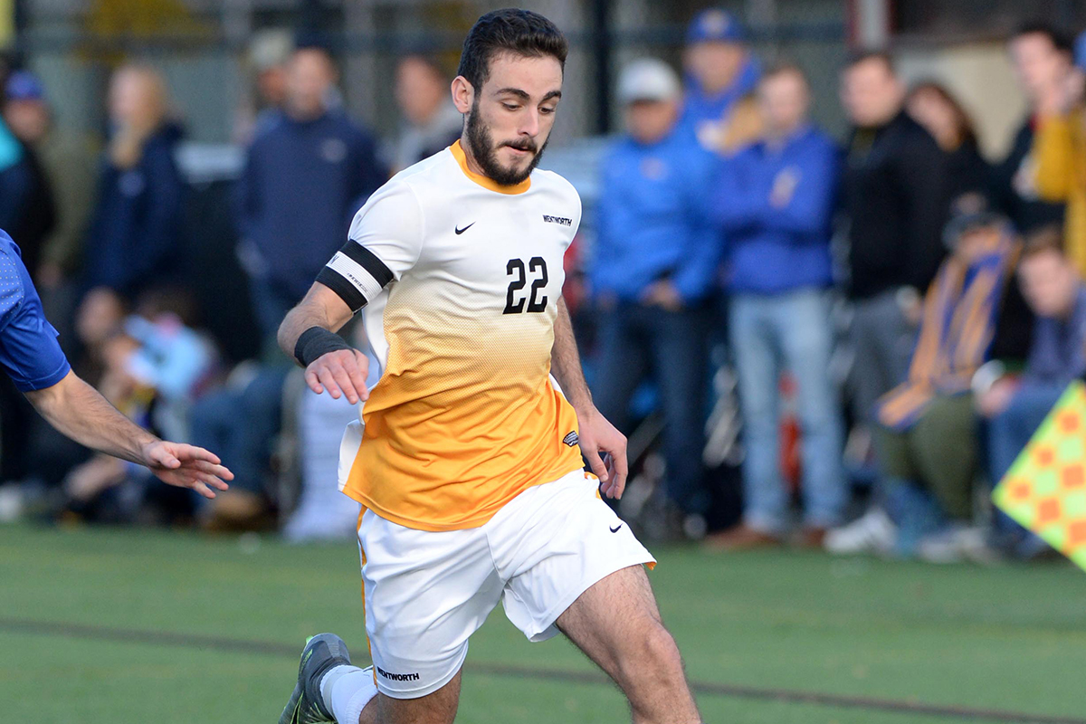 Second Half Run Lifts UMass Boston Past Men's Soccer