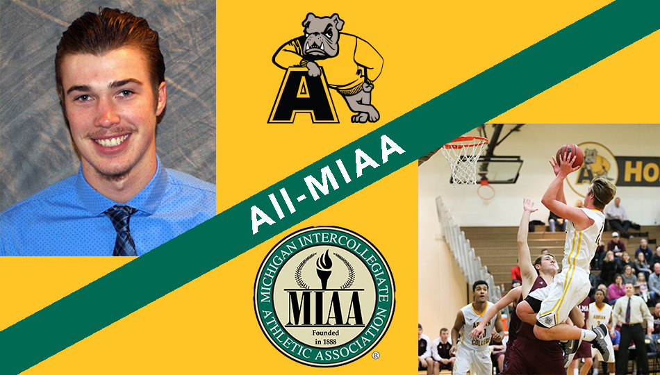 Webster Named to All-MIAA Men's Basketball Team