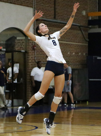 Lynchburg Volleyball Earns ODAC Win, 3-1, Over Emory & Henry Friday
