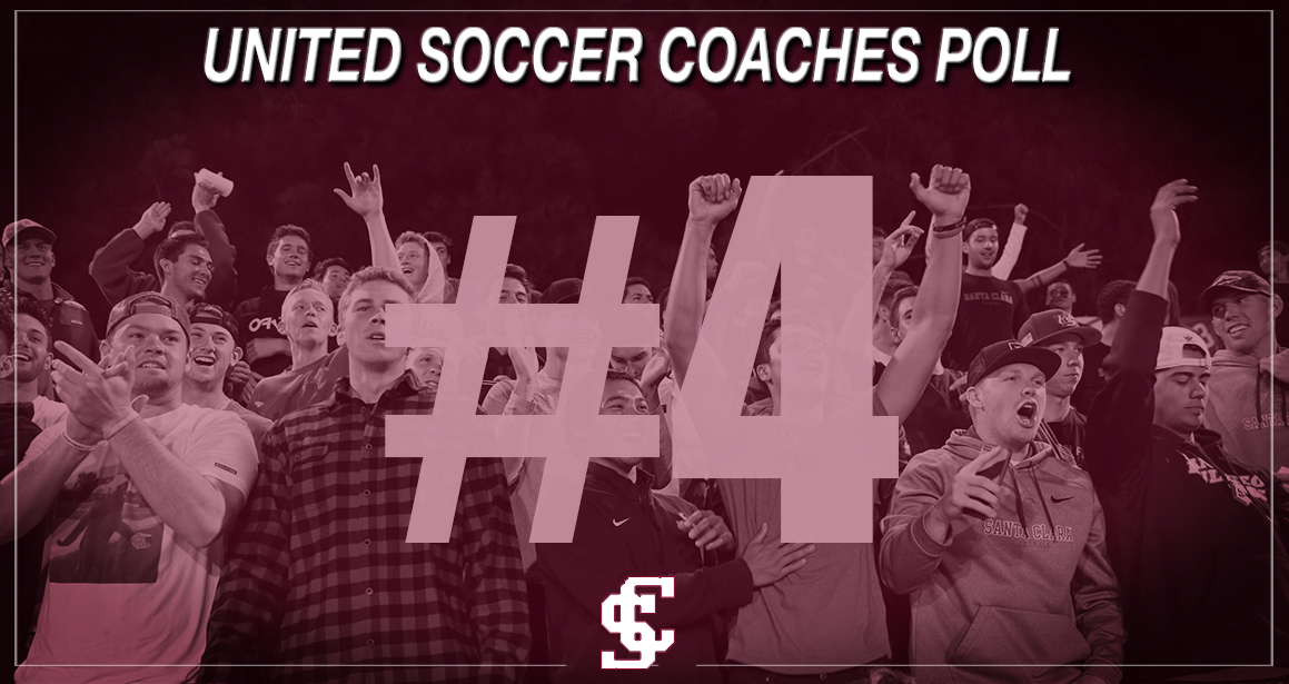 Women's Soccer Ranked No. 4 in Latest United Coaches Poll