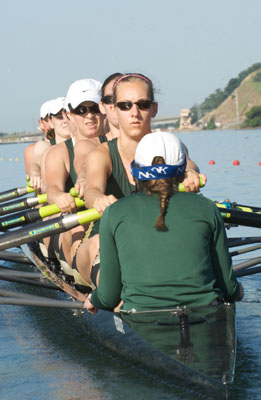 ROWING KICKS OFF SPRING SEASON WITH VICTORY OVER SANTA CLARA