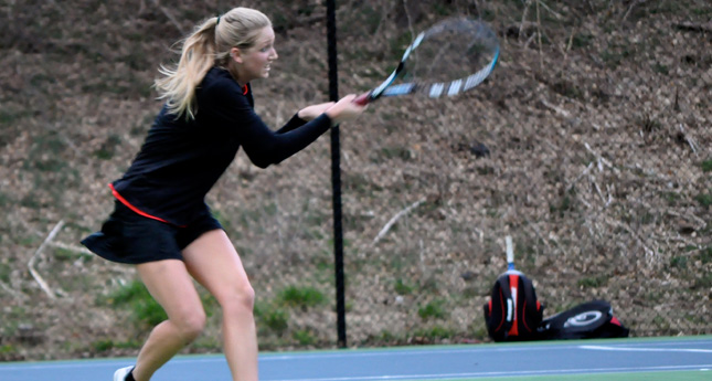 LC Women's Tennis Wins 5-4 against Bluefield