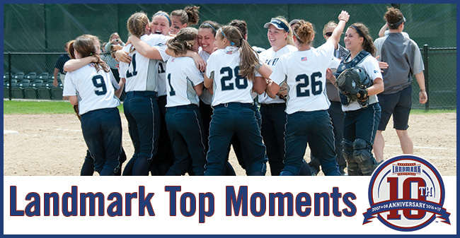 Hounds' Win at Providence Regional in 2010 Selected as Landmark Conference Top Moment