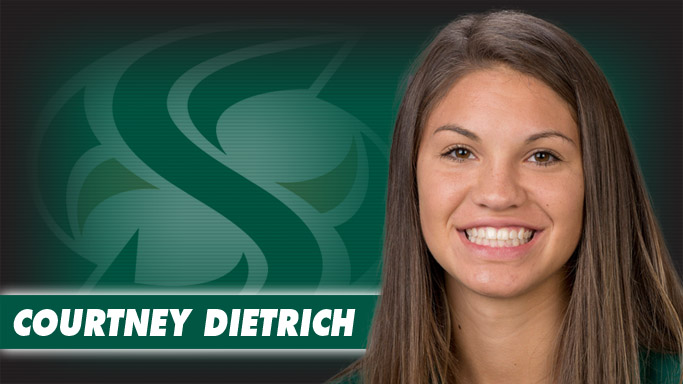 FRESHMAN COURTNEY DIETRICH NAMED BIG SKY VOLLEYBALL PLAYER OF THE WEEK